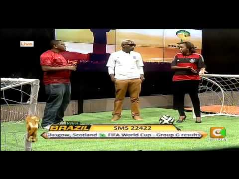 Janet Mbugua Co Hosting Viva Brazil with Mike Okinyi Part 1