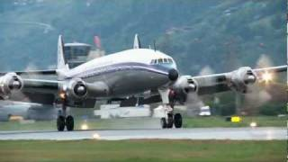 Breitling Super Constellation HB-RSC at Sion Air Show 2011