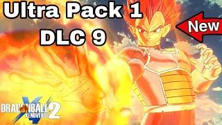 New SUPER SAIYAN GOD VEGETA Super Attacks & Ultimate Attack! Xenoverse 2 ULTRA PACK 1!