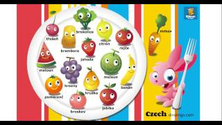 Online Czech games - Click and tell online game - Czech language learning games for kids