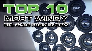 Top 10 the windiest cars from Russia