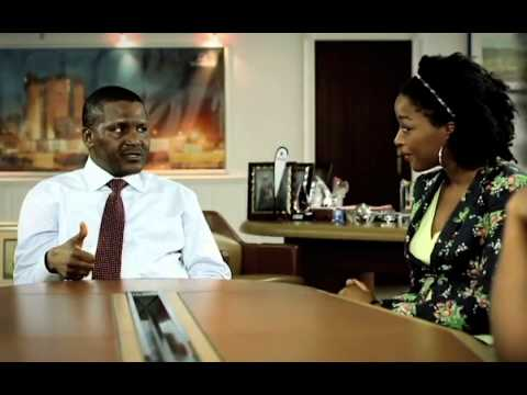 Young Africans Interact with Alhaji Dangote