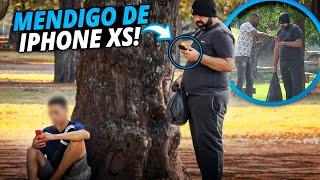 PEGADINHA - MENDIGO DE IPHONE XS E MUITO FOLGADO #DESAFIO 99