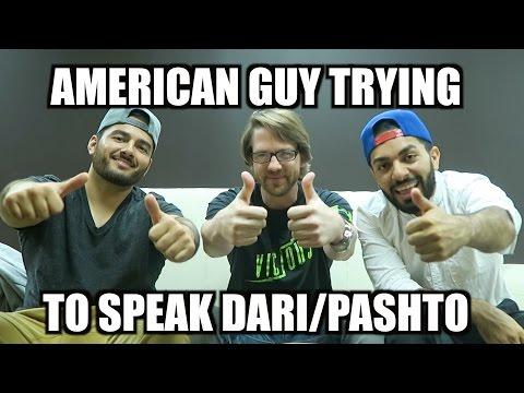 AMERICAN SPEAKING DARI/PASHTO!!