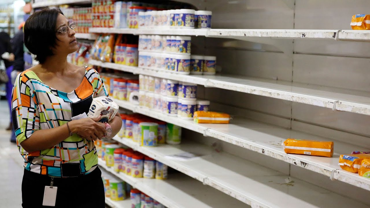Why Store Shelves Are Empty In Venezuela Youtube