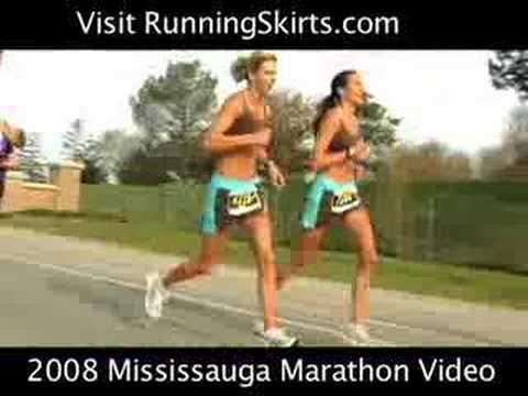 2008 Mississauga Marathon Video Running Videos Travel Video