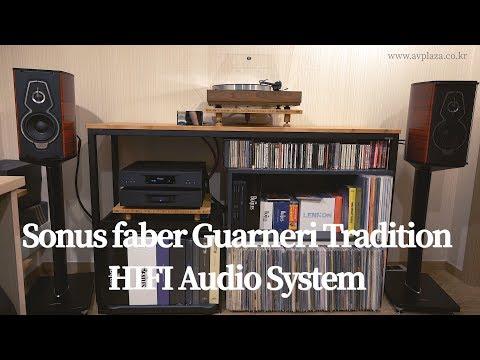 sonus-faber(소너스파베르)-guarneri-tradition-+-linn-akurate-dsm-/-2200-+-linn-lp12-룸하이파이-시스템