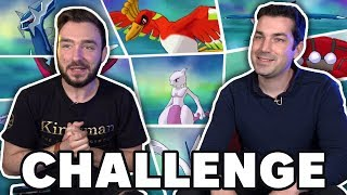 CAPTURE POKEMON LÉGENDAIRE CHALLENGE Ft Aypierre !