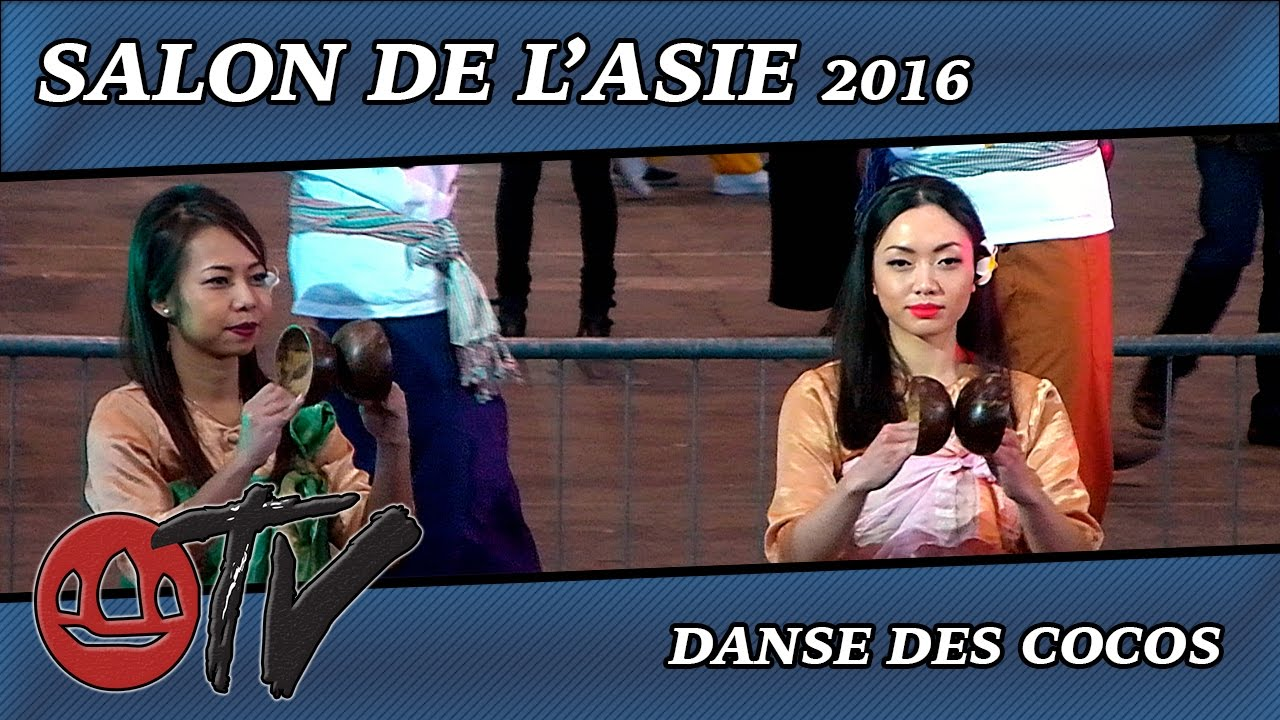 Salon de l 39 asie 2016 danse des cocos traditionnelle for Youtube danse de salon