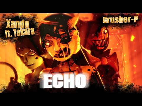 BATIM / SFM| Emotions Carry Harmful Obsession |E.C.H.O. - Xandu (METAL Remix Ft. Takara)