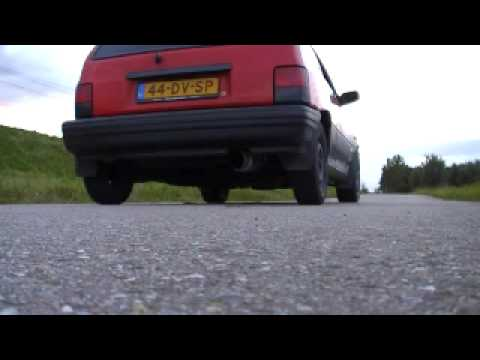 Invidia GT300 N1 Exhaust On A Kia Pride - Compilation