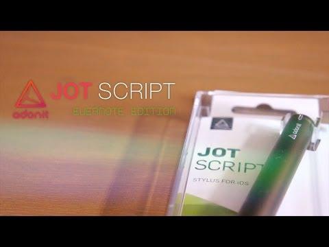 Jot Script EVERNOTE Edition Hands-on