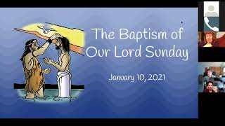 1/10/2021 Baptism of our Lord Worship Service