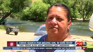 11-year-old girl among others still missing in Kern River