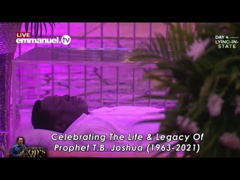 Download T.B.Joshua funeral and Burial service Day 4
