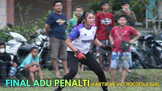 FINAL ADU PENALTI CROCODILE GIRL Vs KARTIRAS WOMEN Trofeo Sokanandi Banjarnegara