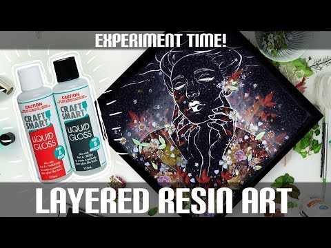 Layered Resin Art (Experiment Time!)