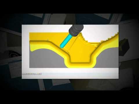 Vero AlphaCAM CAD/CAM Demo (3D CNC Fräsen in 5-Achsen)
