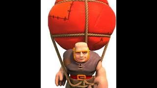 Clash of Clans - Giants VS. Balloons !!!