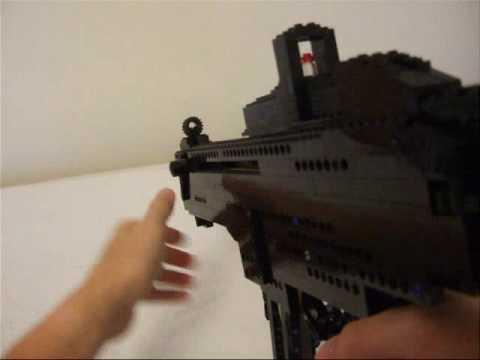Lego How To Build A Machine Gun