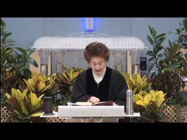 아멘충성교회 이인강 목사 - 나는 그 아비가 되고 그는 나의 아들이 되리니