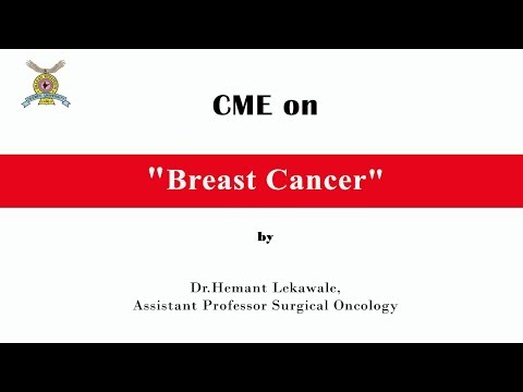 CME On Breast Cancer By Dr.Hemant Lekawale