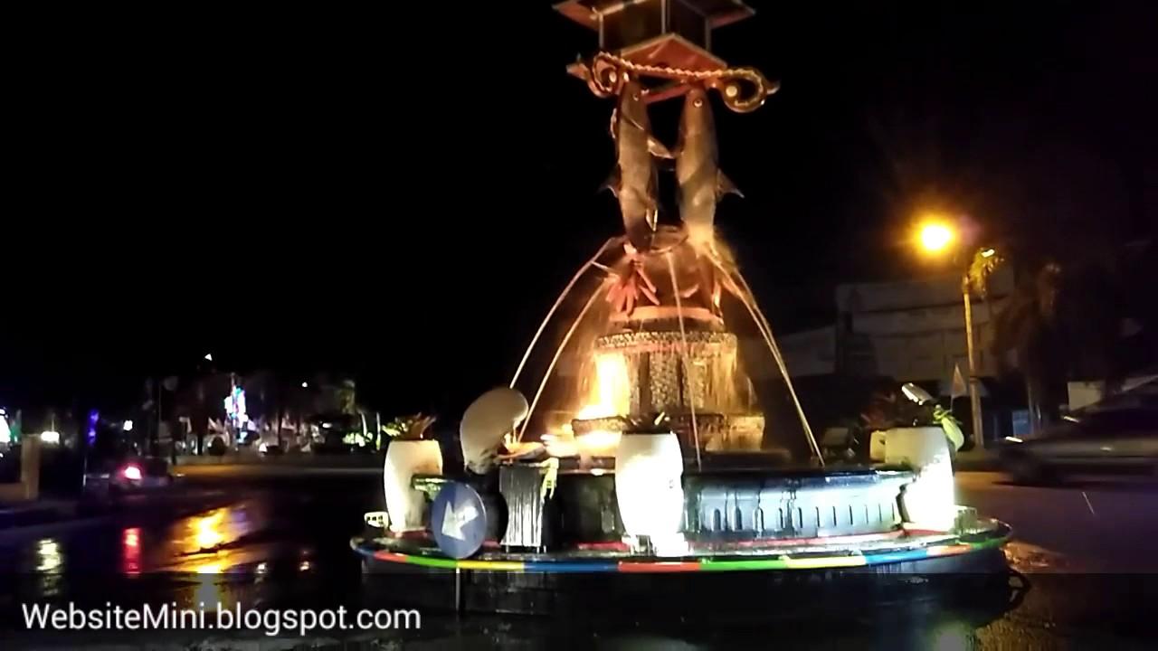 Air Mancur & Patung Ikan SPG Puri Pati - Jawa Tengah - YouTube