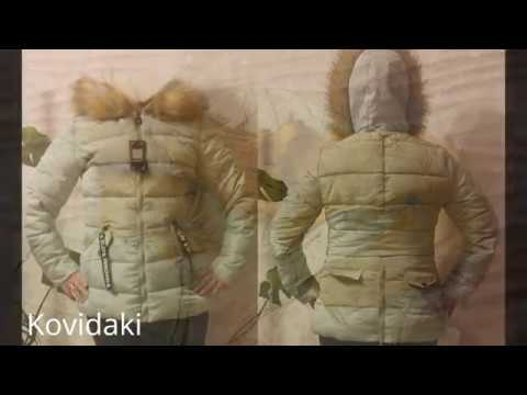 Обзор зимней куртки с мехом Aliexpress