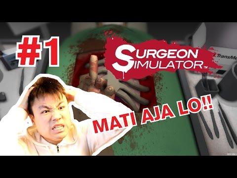 DOKTER JANTUNG HANS !!! GA ADA GARANSI !!! - Surgeon Simulator [Indonesia] Gameplay #1