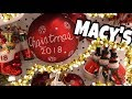 Macy's Christmas 2018 Christmas Trees and Ornament Shopping