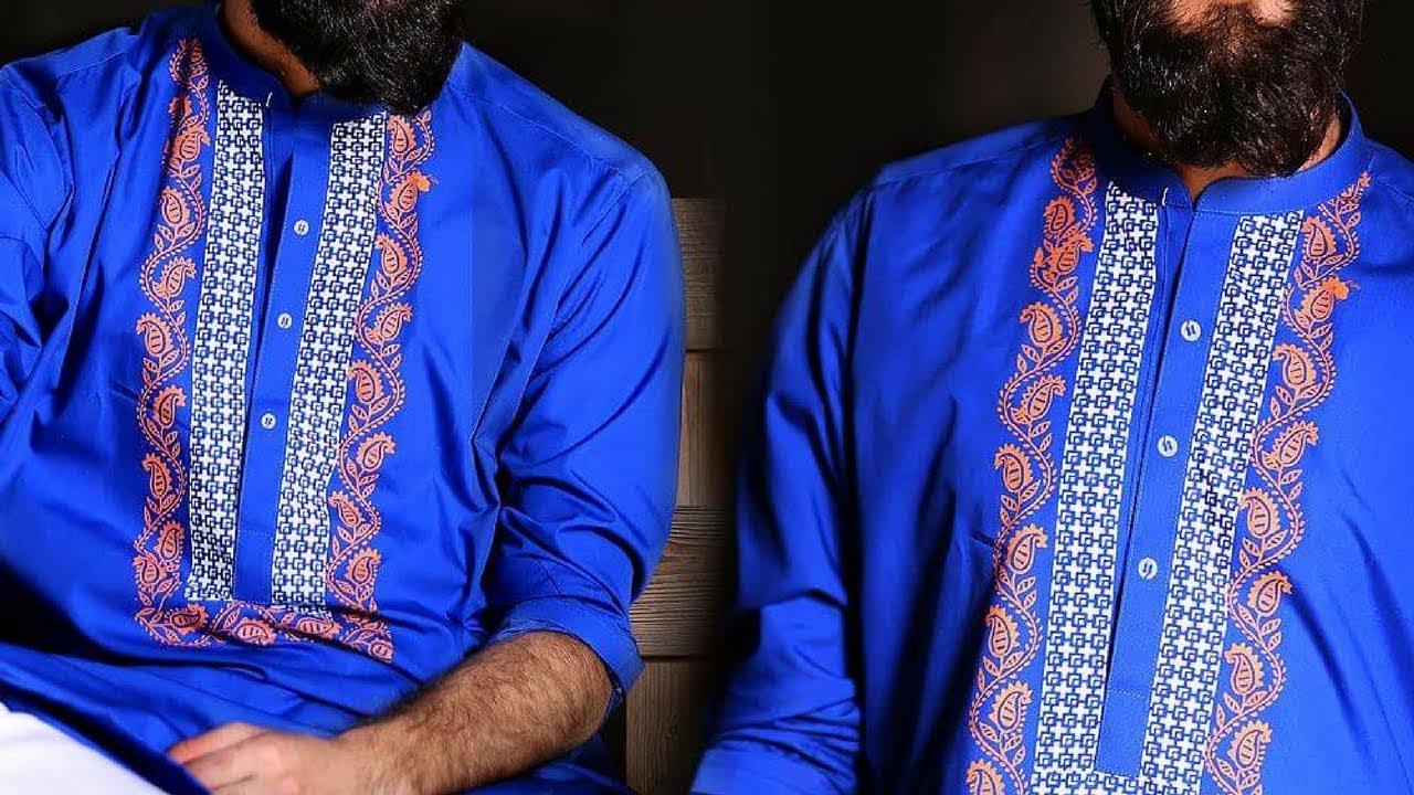 2018 Latest Eid Kurta Shalwar Kameez Designs For Mens Mens