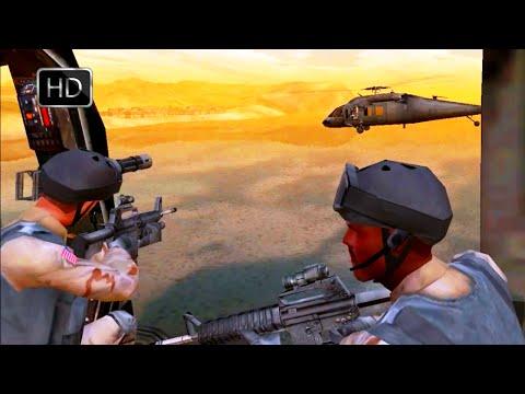 Delta Force Black Hawk Down Team Sabre Mission: Coastal Pipeline Pump Station HD  