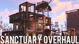 sanctuary overhaul mod showcasing fo4