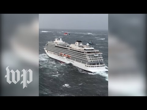 Norway cruise ship in chaos after engine failure prompts evacuations Mp3