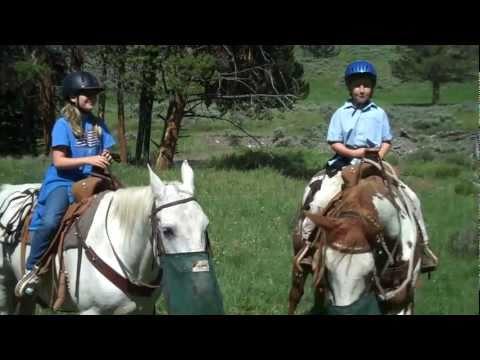 Horseback Riding Yellowstone Park, Montana