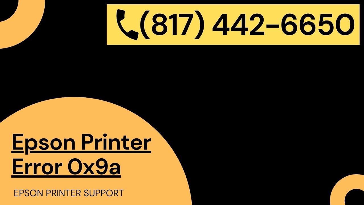 Epson Error Code 0X9A   epson printer error code 0x9a   epson wf 3640 error  code 0x9a - YouTube