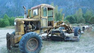 Vintage Austin Western Motor Grader