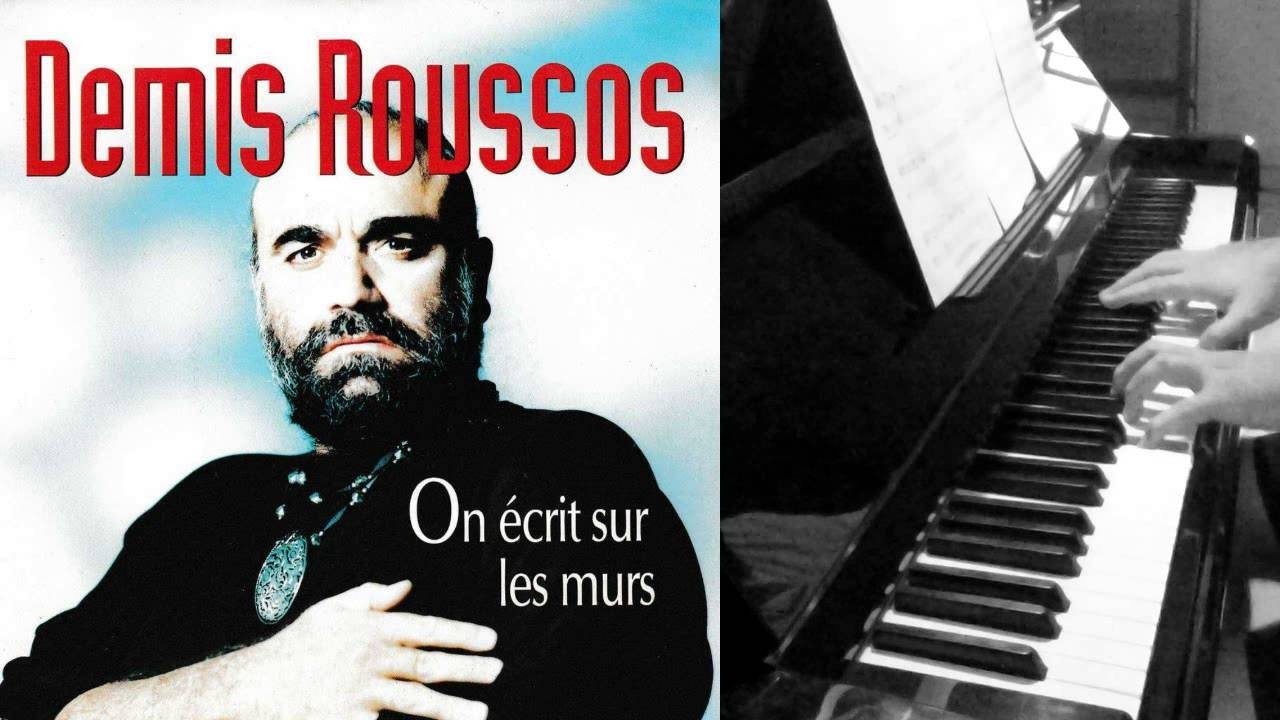 demis roussos on ecrit sur les murs piano solo youtube. Black Bedroom Furniture Sets. Home Design Ideas