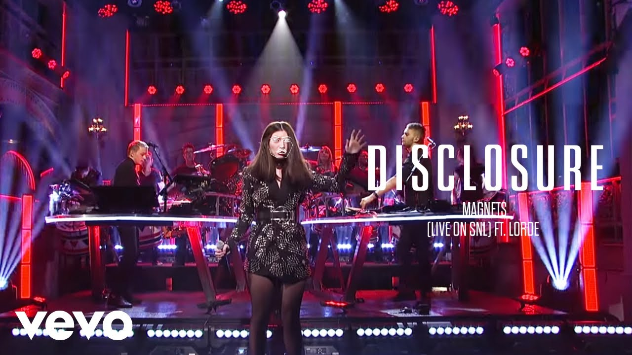 Disclosure – Magnets (Live on SNL) ft. Lorde