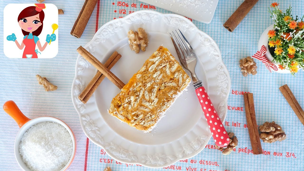 Balkabaklı Mozaik Pasta (Piramit Pasta)