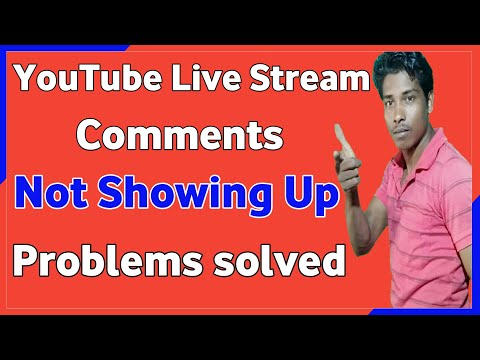 how to turn on comments on youtube | YouTube live stream comment problem