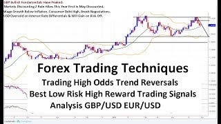 Forex Trading Best Trend Reversal Techniques GBP/USD EUR/USD  Analysis 31/03