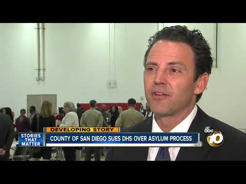 MORNING NEWS - County Sues DHS Over Asylum Process