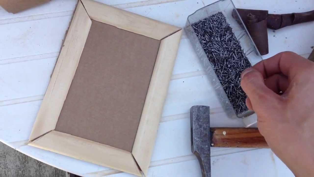 Fabuleux Fabriquer un cadre / Fabriquer un cadre photo soi-même - YouTube TU26