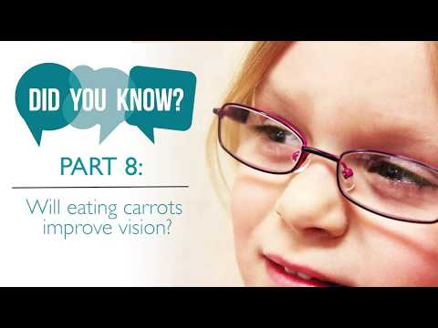 Will Eating Carrots Improve Vision
