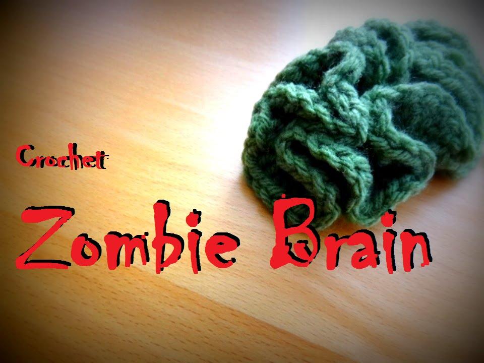 Crochet Small Zombie Brain Pink Brain Halloween Youtube
