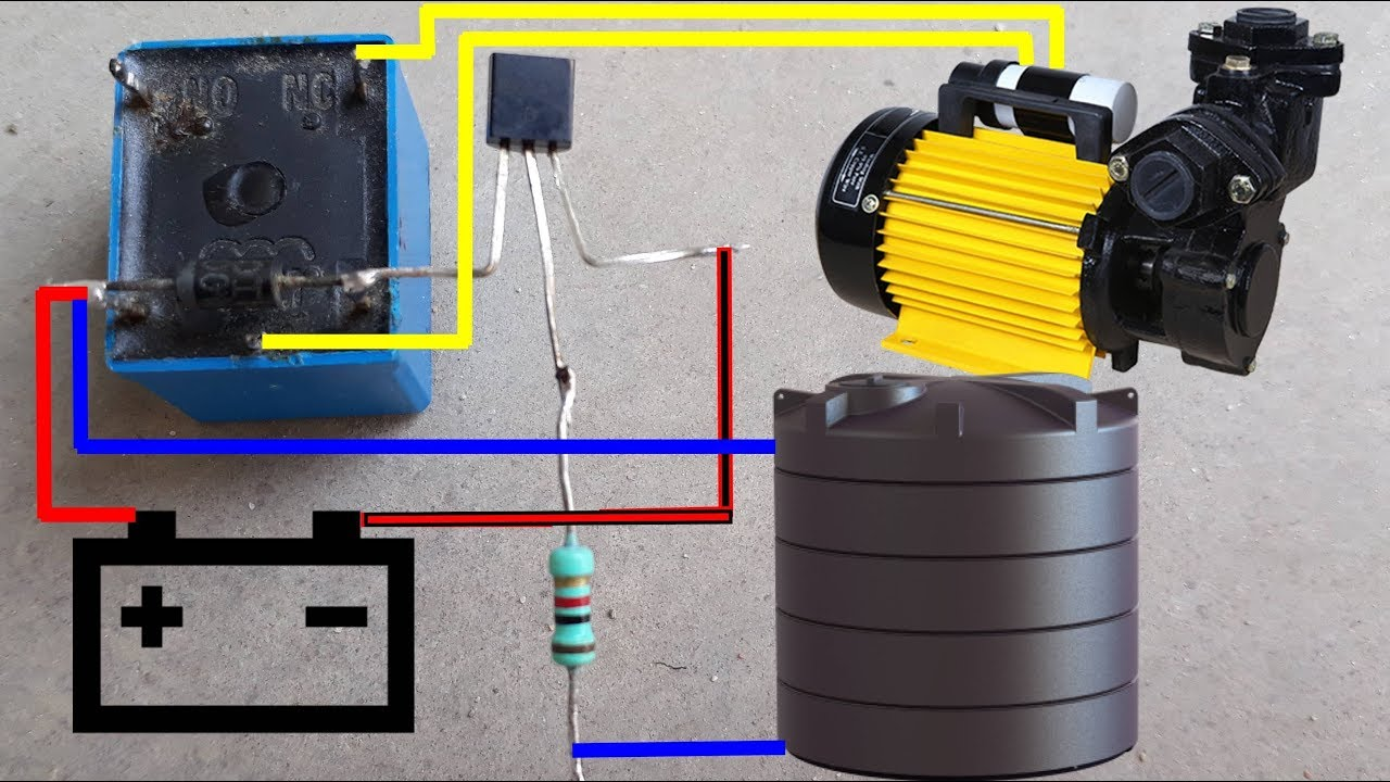 water pump auto cut switch circuit diagram water pump auto on off wiring diagram for water well pump wiring diagram for water pump [ 1280 x 720 Pixel ]