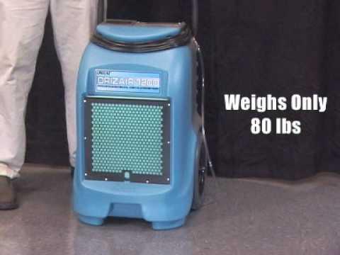 Dri-Eaz DrizAir 1200 Dehumidifier - Jon-Don Video