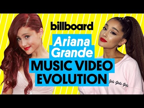 Ariana Grande Music Videos From 2012 To Today Watch Her Evolution Billboard