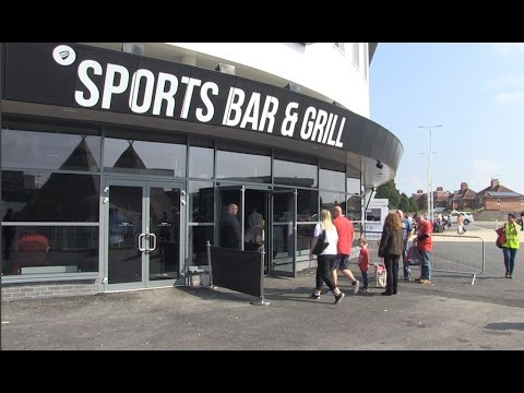 Fan reaction to the new Sports Bar & Grill